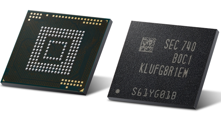 ufs2 - В Samsung начат выпуск первых модулей eUFS ёмкостью 512 Гбайт для смартфонов