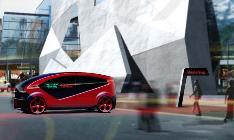 """Fisker Orbit: проект роботизированного автобуса для смарт-городов"""""""