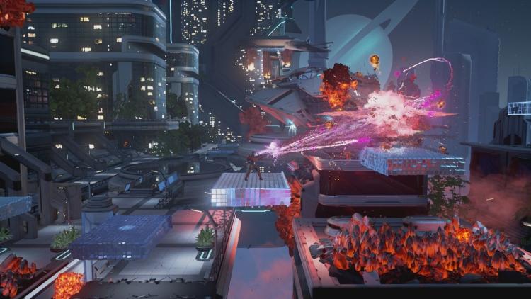 Matterfall — первая игра студии на движке Unreal Engine 4.