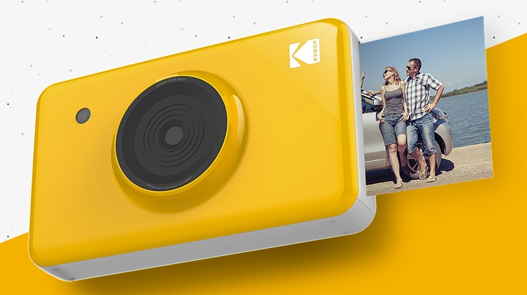Kodak Mini Shot: камера моментальной печати с дисплеем и Bluetooth""