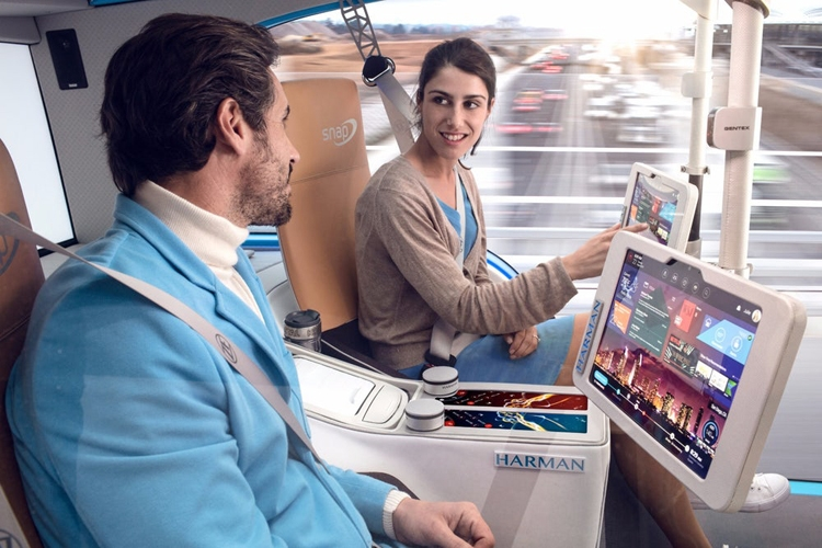 """Rinspeed Snap — ещё одна концепция робомобиля для городов будущего"""""""