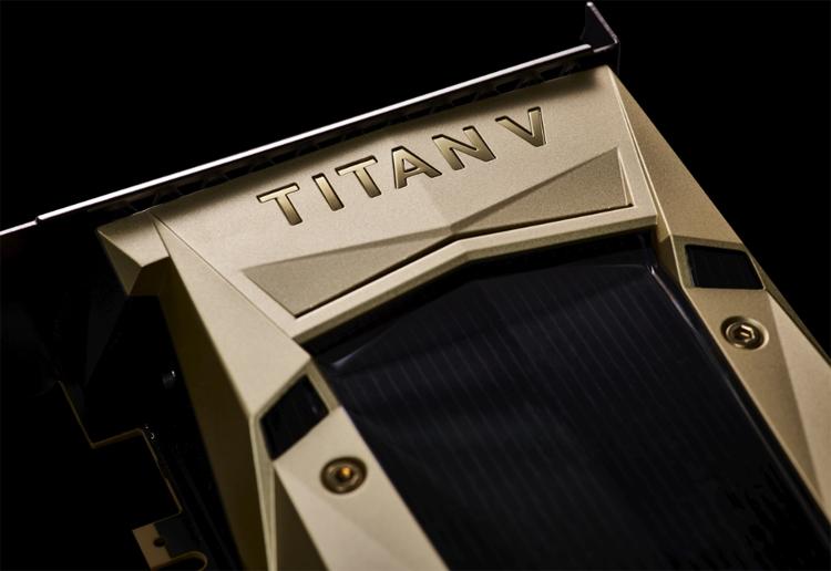 Представлена «самая мощная видеокарта вистории» за200 000 руб. — NVIDIA Titan V