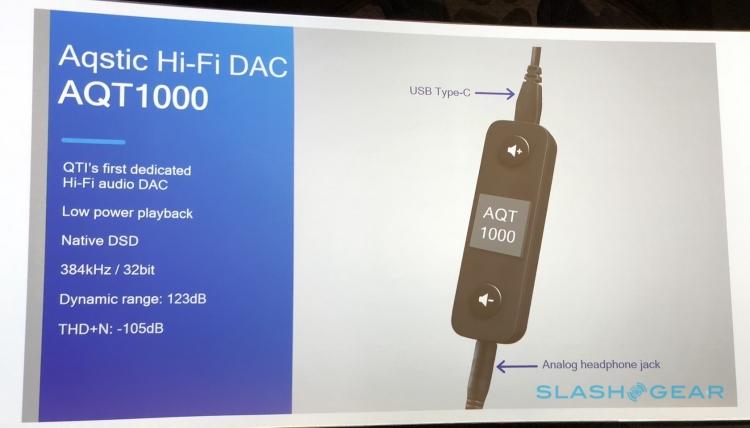 """Внешний ЦАП Qualcomm Aqstic AQT1000 объединит классические наушники и смартфоны сType-C"""""""