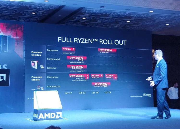 1219 1 - Официально: второе поколение CPU Ryzen входит в ближайшие планы AMD
