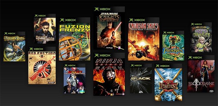 На Xbox One стали появляться и проекты для оригинальной Xbox в режиме обратной совместимости