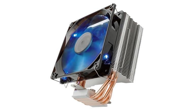 Кулер Reeven E12 подходит для процессоров AMD и Intel