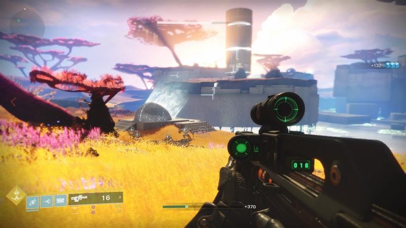 С красотой локаций в Destiny никогда не было проблем