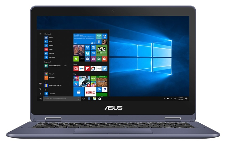 """Ноутбук-трансформер ASUS TP202 с 11,6"""" дисплеем весит 1,3 кг"""""""