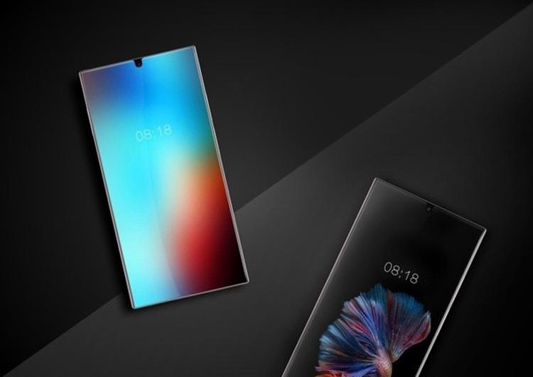 Sharp покажет по-настоящему безрамочный смартфон