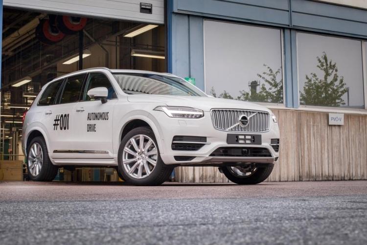 Вольво перенесла на 2021-й год тестирования робомобилей обычными гражданами Швеции