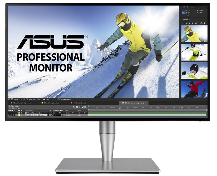 ASUS ProArt PA27AC: профессиональный монитор с интерфейсом Thunderbolt 3