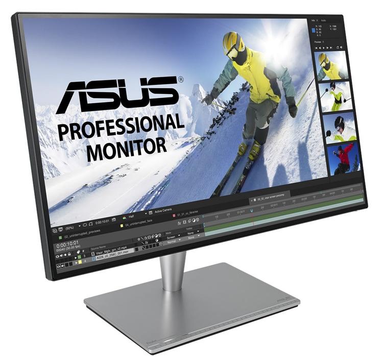 """ASUS ProArt PA27AC: профессиональный монитор с интерфейсом Thunderbolt 3"""""""
