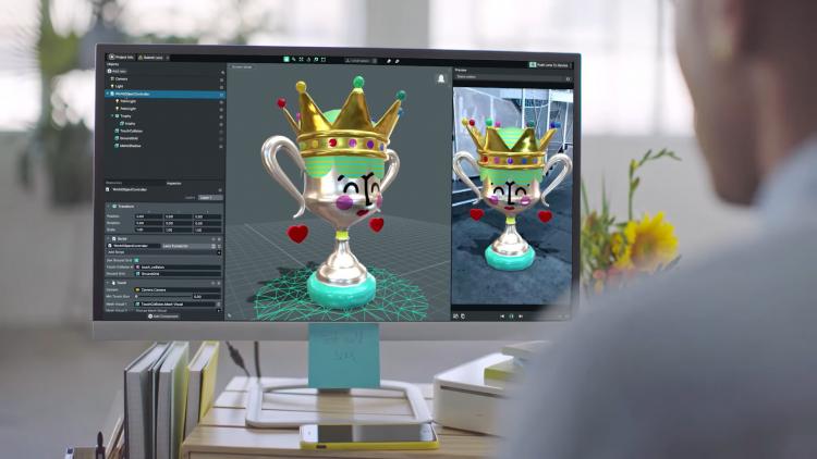 """Snap выпустила инструмент для создания AR-эффектов Lens Studio"""""""