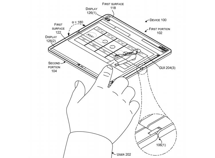 """Microsoft проектирует планшет-раскладушку с двумя дисплеями"""""""