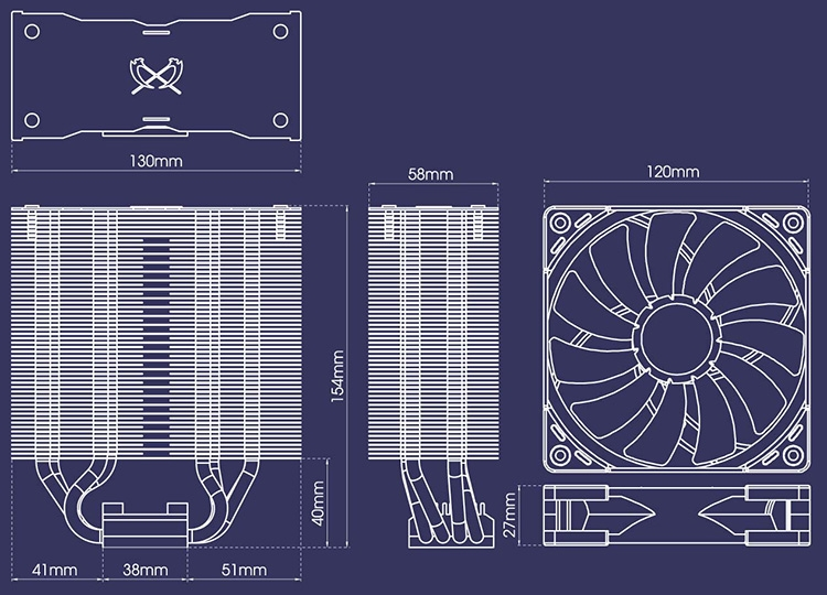Kotetsu Mark II весит 645 г при габаритах 130(Д) × 83(Ш) × 154(В) мм