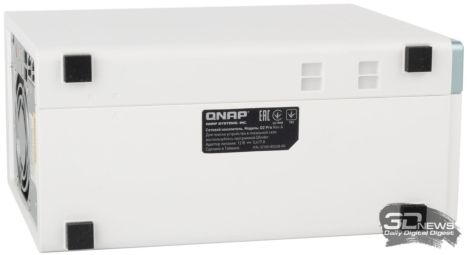 Обзор QNAP D2 Pro: свежий взгляд на домашний NAS / Накопители