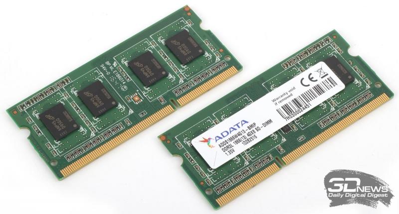 Модули памяти ADATA ADDS1866W4G13 DDR3-1866