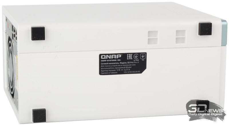 Внешний вид NAS QNAP D2 Pro