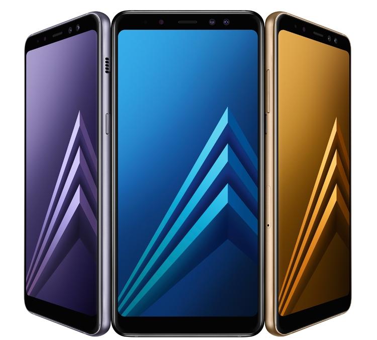 """Дебют смартфонов Samsung Galaxy A8 (2018) и A8+ (2018) с двойной селфи-камерой"""""""