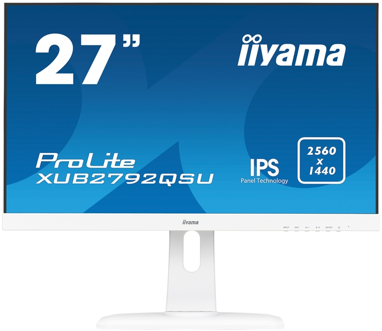 "Iiyama ProLite XUB2792QSU-W1: монитор формата WQHD с диагональю 27 дюймов"""