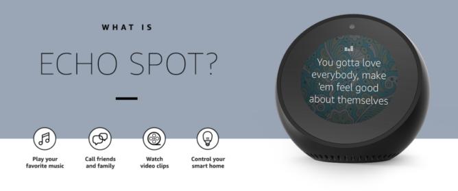 """Запасы Amazon Echo Spot закончились в первый день старта поставок"""""""