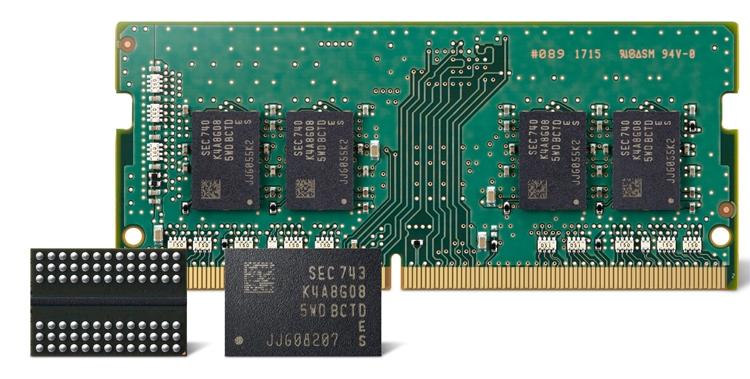 """На предприятиях Samsung начат массовый выпуск передовых чипов DDR4 DRAM"""""""