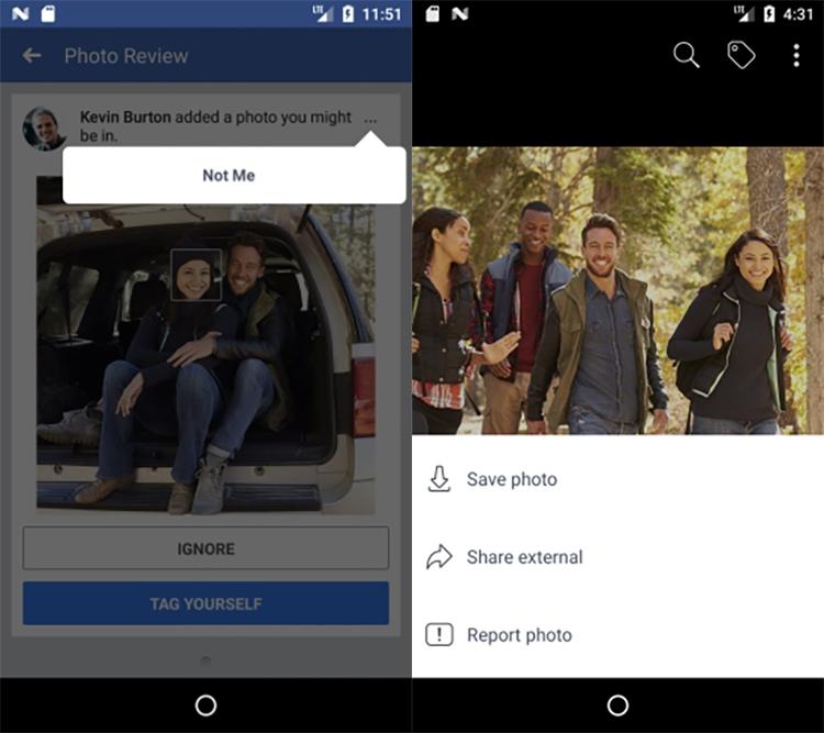 """Facebook сообщит, если кто-то загрузит ваше фото и не отметит вас на нём"""""""