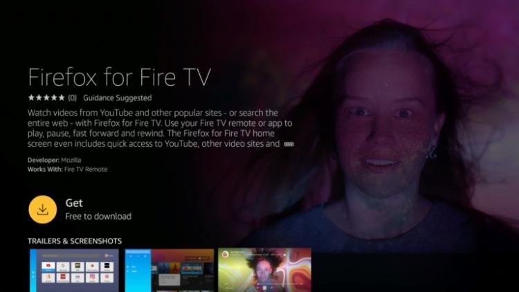 """Смарт-ТВ Amazon Fire TV будут поставлять с предустановленным браузеромFirefox"""""""