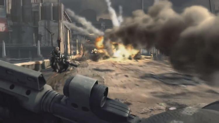 Визуализировать в реальном времени подобные эффекты взрывов и объёмный дым — нелёгкая задача даже для современных консолей