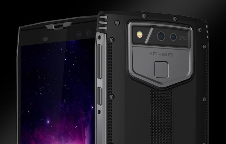 В будущем 2018-ом выйдет новый защищенный смартфон Doogee S50