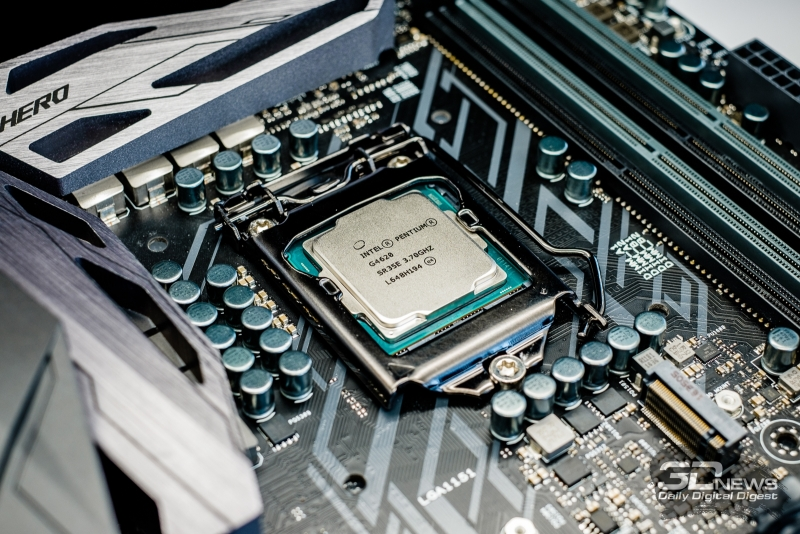 The analogue of desktop processors Pentium Kaby Lake would harmonize with budget gaming laptops. But there is no competition in the market - there is no big choice of processors &quot;height =&quot; 534 &quot;width =&quot; 800 &quot;/&gt; </a></p> <div class=