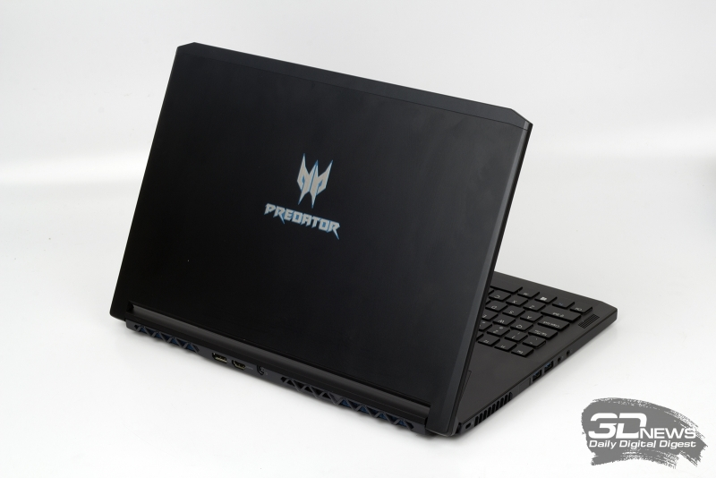 Acer Predator Triton 700 &quot;height =&quot; 534 &quot;width =&quot; 800 &quot;/&gt; </a></p> </div> <p> At the same time, there is no need to idealize laptops with Max-Q graphics, they have shortcomings. Both ASUS ROG ZEPHYRUS (GX501) and Acer Predator Triton 700 work quite loudly, and NVIDIA claimed that these models have some of the best acoustic characteristics with a maximum noise level of 40 dB. In justification, I will say that in 2017 there was not a single quiet gaming laptop on sale. Unfortunately, these laptops are not designed to work on the built-in battery, and this is somewhat frustrating, since thin laptops, in my opinion, are just developing to increase their mobility. Finally, models with Max-Q graphics are unreasonably expensive. </p> <p> I want to believe that soon the manufacturers will fix the listed shortcomings, and with the growth of popularity such devices will only become more accessible. </p> <p><center/> </p> <p class=