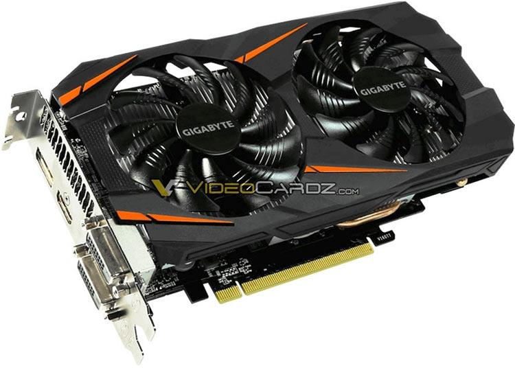 """Первые фото GeForce GTX 1060 5 Гбайт в исполнении Gigabyte"""""""