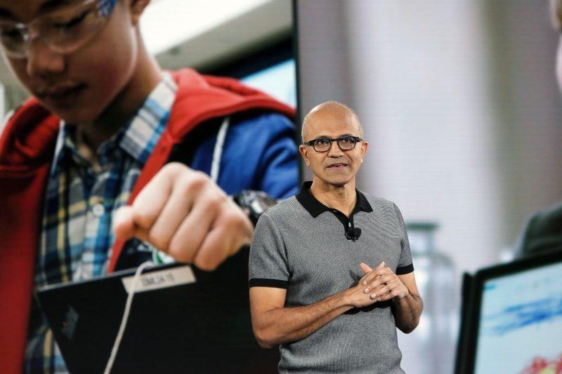 Исполнительный директор Microsoft Сатья Наделла назвал ИИ одним из приоритетов компании