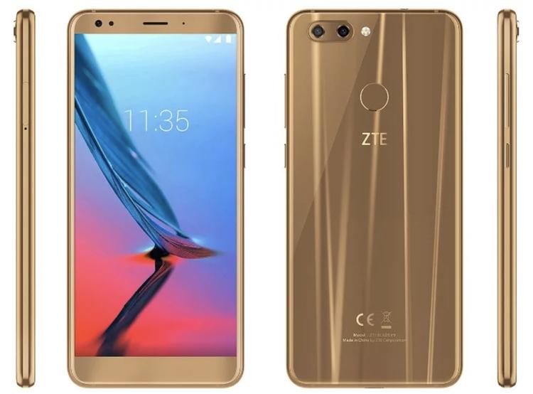 "Смартфон ZTE Blade V9 оснащён 5,7"" дисплеем Full HD+"""