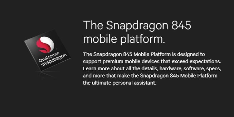 """Обнародован перечень готовящихся к выпуску смартфонов на платформе Snapdragon 845"""""""