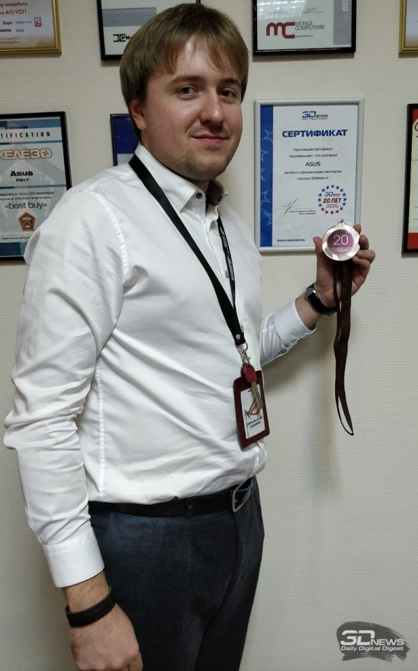 Влад Захаров — директор по маркетингу ASUS Republic of Gamers