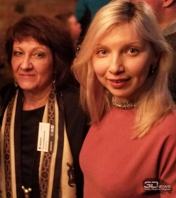 Татьяна Иваровская — GIGABYTE