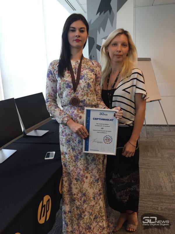 Екатерина Трофимова — PR-директор HP