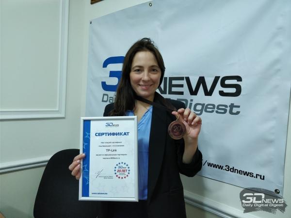 Ольга Радаева — директор по маркетингу и PR TP-Link