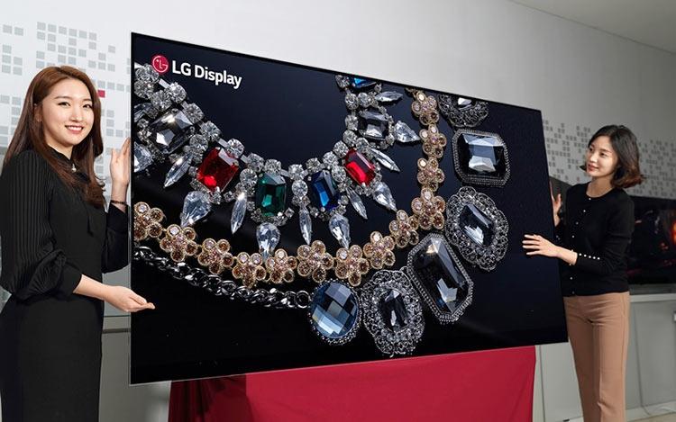 """CES 2018: LG представила первый в мире 88-дюймовый OLED-дисплей 8K"""""""
