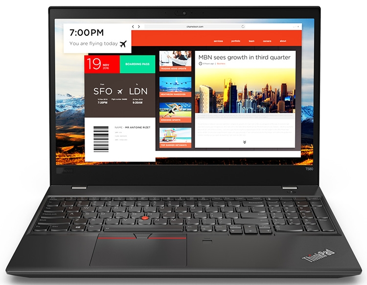 Из всех новинок только ThinkPad T580 и L580 имеют блок цифровых клавиш