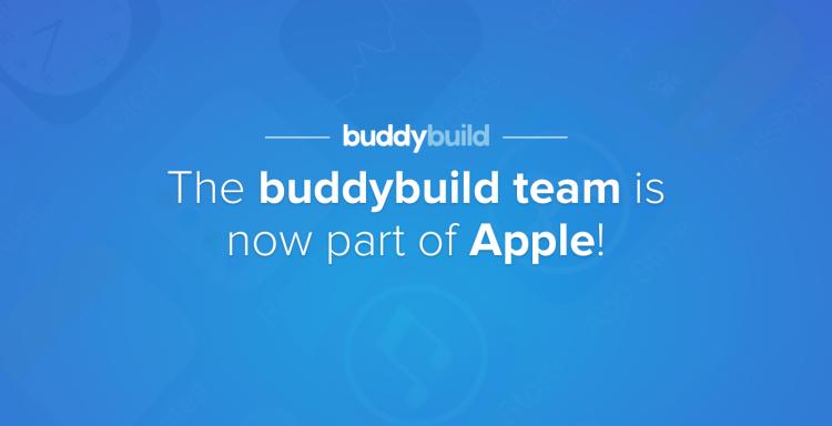 """Apple купила сервис разработки приложений Buddybuild"""""""