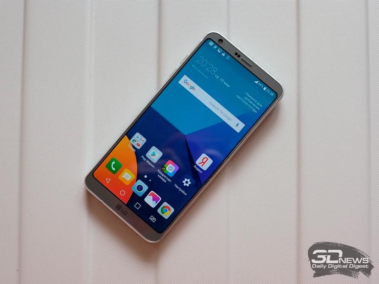 """LG передумала выпускать G7: смартфону придумают другое имя"""""""