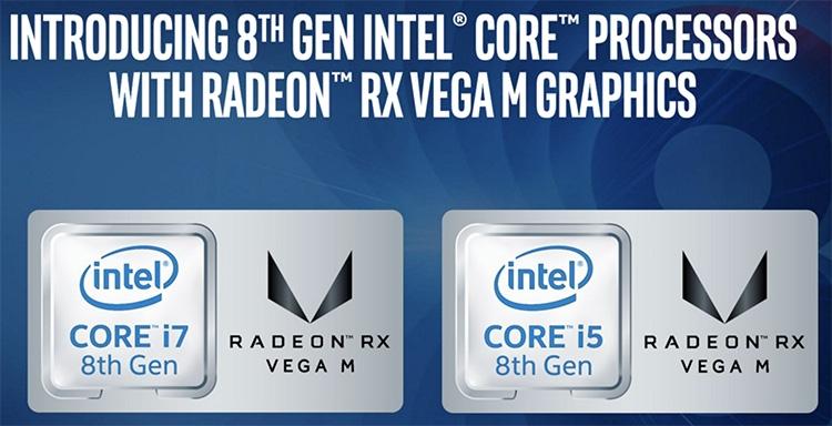 CES 2018: Intel показала первые процессоры Core сграфикой AMD