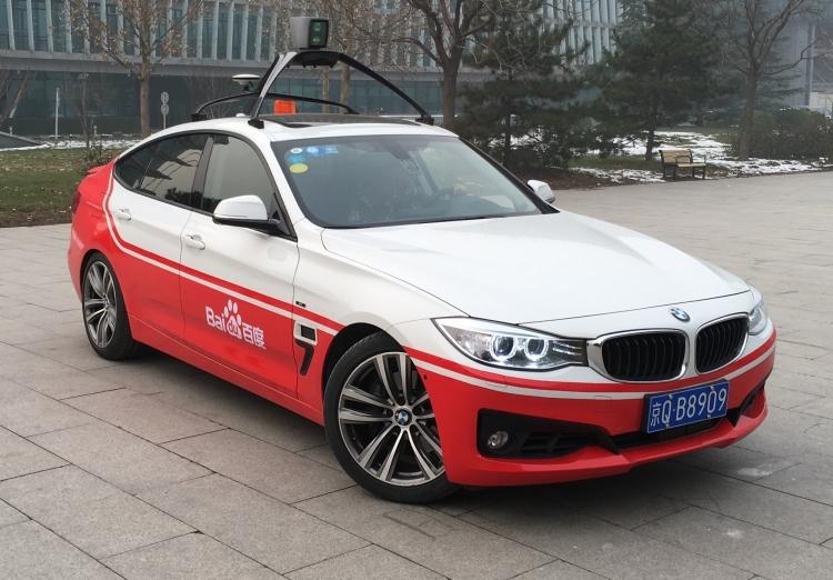 """BlackBerry и Baidu займутся совместной разработкой систем для самоуправляемых авто"""""""