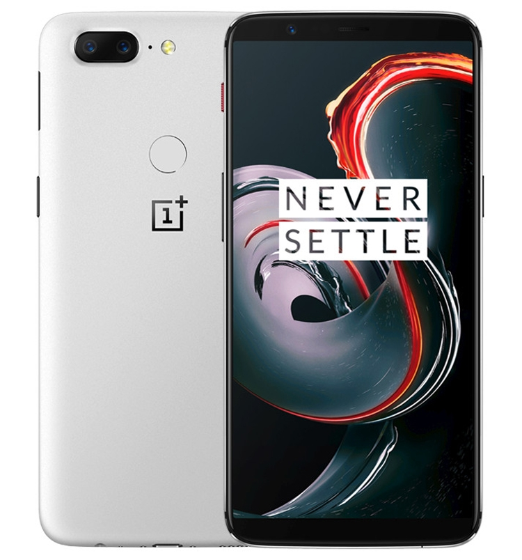 Смартфон OnePlus 5T Sandstone White Limited Edition