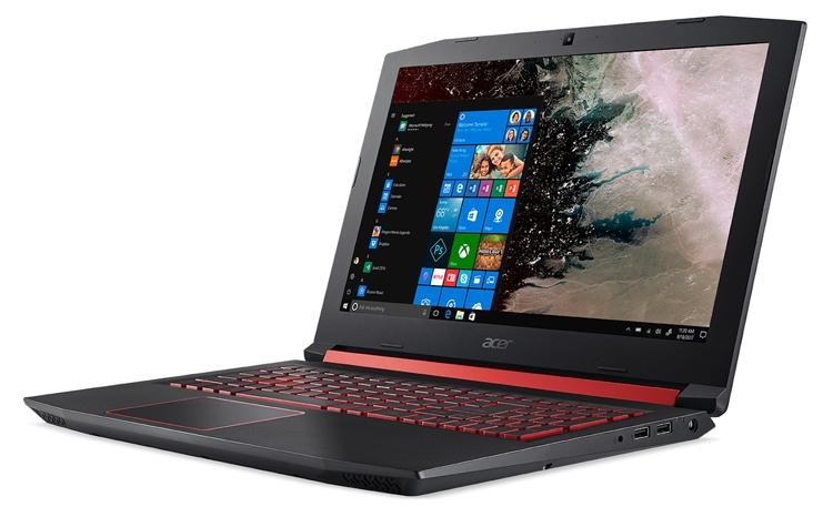 """CES 2018: игровой ноутбук Acer Nitro 5 оснащён чипом AMD Ryzen"""""""
