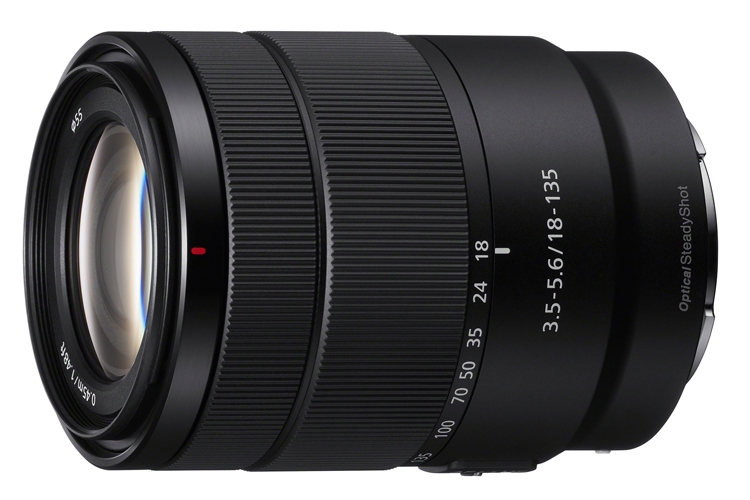 Представлен объектив Sony E 18-135mm F3.5-5.6 OSS за $600""