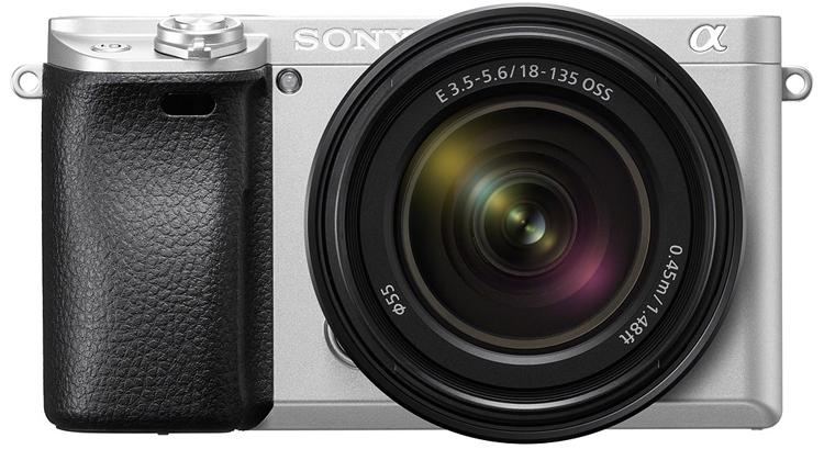 """Беззеркальная фотокамера Sony α6300 предстала в серебристом исполнении"""""""